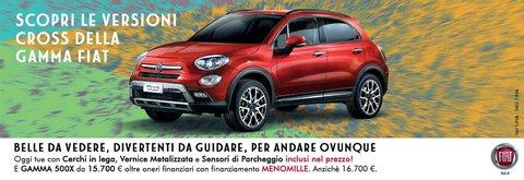 Fiat 500X tua con Finanziamento Menomille - Denicar Milano