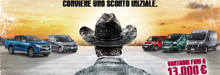 Scegli solo la gamma Fiat Professional a Milano - Denicar